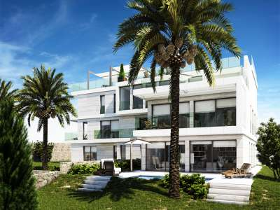 Image 1   3 bedroom apartment for sale with 24m2 of land, Beaulieu sur Mer, French Riviera 212563