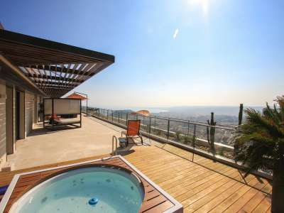Image 2 | 4 bedroom penthouse for sale with 277m2 of land, Mont Boron, Nice, French Riviera 212596