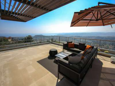 Image 3 | 4 bedroom penthouse for sale with 277m2 of land, Mont Boron, Nice, French Riviera 212596