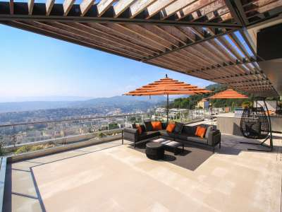 Image 4 | 4 bedroom penthouse for sale with 277m2 of land, Mont Boron, Nice, French Riviera 212596