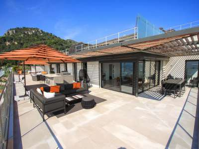 Image 5 | 4 bedroom penthouse for sale with 277m2 of land, Mont Boron, Nice, French Riviera 212596