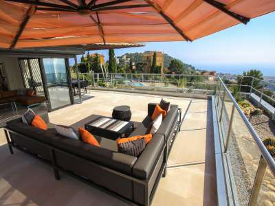 Image 6 | 4 bedroom penthouse for sale with 277m2 of land, Mont Boron, Nice, French Riviera 212596