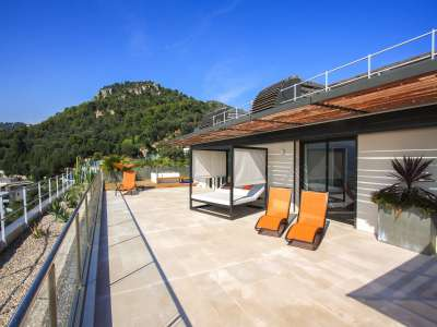 Image 9 | 4 bedroom penthouse for sale with 277m2 of land, Mont Boron, Nice, French Riviera 212596