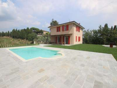 Image 1   5 bedroom farmhouse for sale with 11.94 hectares of land, Montecatini Val di Cecina, Pisa, Tuscany 214487