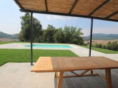 Image 3   5 bedroom farmhouse for sale with 11.94 hectares of land, Montecatini Val di Cecina, Pisa, Tuscany 214487
