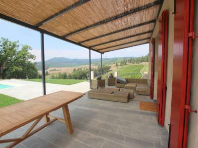 Image 7   5 bedroom farmhouse for sale with 11.94 hectares of land, Montecatini Val di Cecina, Pisa, Tuscany 214487