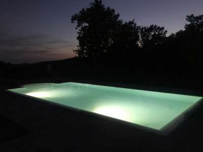 Image 9   5 bedroom farmhouse for sale with 11.94 hectares of land, Montecatini Val di Cecina, Pisa, Tuscany 214487