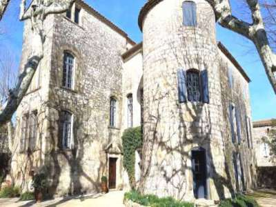 Image 2   7 bedroom French chateau for sale with 0.78 hectares of land, Uzes, Gard , Languedoc-Roussillon 216472