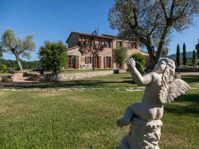 Image 13   5 bedroom farmhouse for sale with 3 hectares of land, Chiusi, Siena, Chianti Wine Region 216712