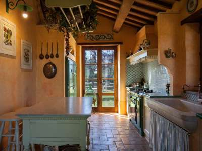 Image 9   5 bedroom farmhouse for sale with 3 hectares of land, Chiusi, Siena, Chianti Wine Region 216712