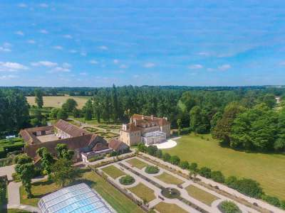 Image 2 | Superb Equestrian French Chateau with Stud Farm for Sale in Normandy, France with 300 acres  217843