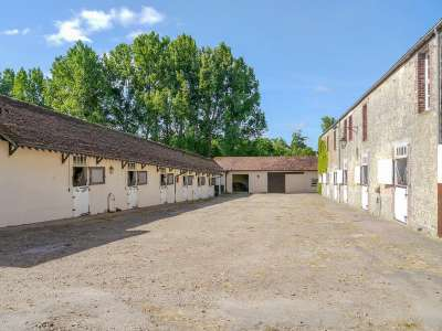 Image 5 | Superb Equestrian French Chateau with Stud Farm for Sale in Normandy, France with 300 acres  217843