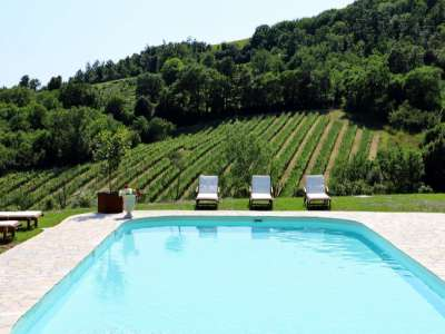 Image 3 | 5 bedroom farmhouse for sale with 22.93 hectares of land, Montecatini Val di Cecina, Pisa, Tuscany 218158