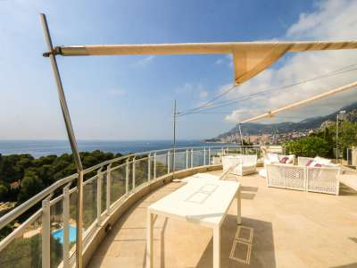 Image 14 | 2 bedroom penthouse for sale with 81m2 of land, Roquebrune Cap Martin, French Riviera 219149