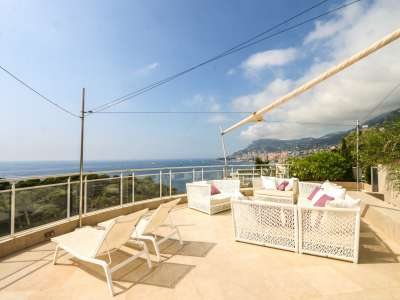 Image 3 | 2 bedroom penthouse for sale with 81m2 of land, Roquebrune Cap Martin, French Riviera 219149