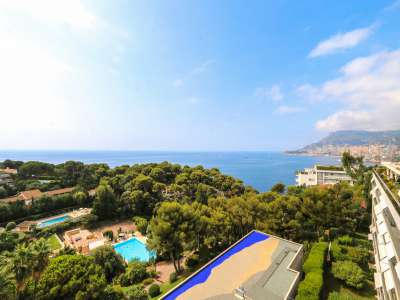 Image 4 | 2 bedroom penthouse for sale with 81m2 of land, Roquebrune Cap Martin, French Riviera 219149