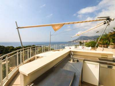 Image 5 | 2 bedroom penthouse for sale with 81m2 of land, Roquebrune Cap Martin, French Riviera 219149