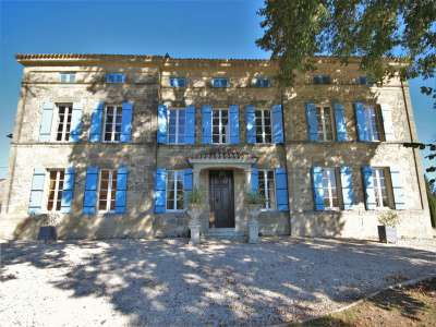 Image 2   14 bedroom French chateau for sale with 5.4 hectares of land, Lauzun, Lot-et-Garonne , Aquitaine 219411