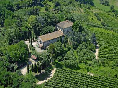 Image 1   14 bedroom farmhouse for sale with 8.2 hectares of land, Pisa, Tuscany 220795
