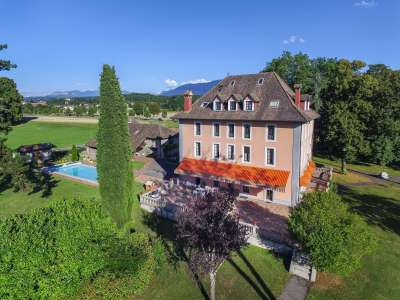 Image 1   7 bedroom French chateau for sale with 8.47 hectares of land, Thonon les Bains, Haute-Savoie , Lake Geneva 221269