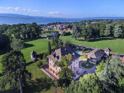 Image 2   7 bedroom French chateau for sale with 8.47 hectares of land, Thonon les Bains, Haute-Savoie , Lake Geneva 221269