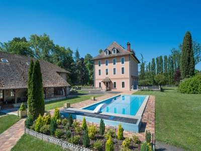 Image 8   7 bedroom French chateau for sale with 8.47 hectares of land, Thonon les Bains, Haute-Savoie , Lake Geneva 221269
