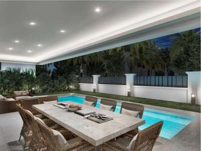 Image 3   4 bedroom villa for sale with 434m2 of land, Rio Verde, Puerto Banus, Malaga Costa del Sol, Andalucia 221350