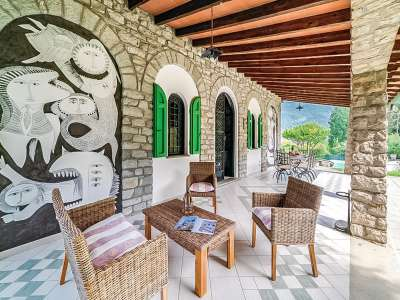 Image 24   5 bedroom villa for sale with 1 hectares of land, Camaiore, Lucca, Tuscany 222087