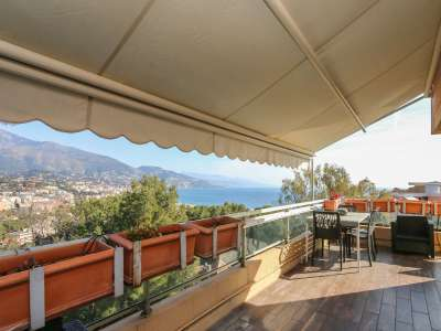 Image 1 | 3 bedroom penthouse for sale with 200m2 of land, Roquebrune Cap Martin, French Riviera 222601