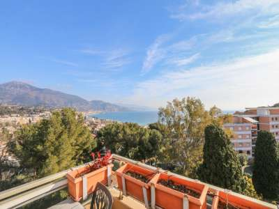 Image 10 | 3 bedroom penthouse for sale with 200m2 of land, Roquebrune Cap Martin, French Riviera 222601