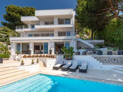 Image 2   5 bedroom villa for sale with 1,450m2 of land, Villefranche sur Mer, Villefranche, French Riviera 223191