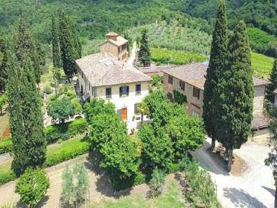 Image 1 | 6 bedroom villa for sale, Chianti, Florence, Chianti Wine Region 225107