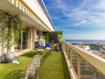 Image 1   2 bedroom apartment for sale, Jardin Exotique, Monte Carlo, French Riviera 225155