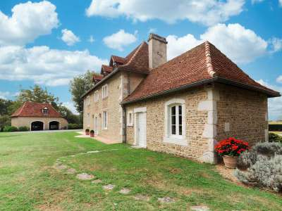 Image 2   4 bedroom manor house for sale with 0.68 hectares of land, Pau, Pyrenees-Atlantique , Gascony 225242