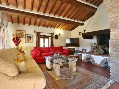 Image 13   5 bedroom villa for sale with 6.88 hectares of land, Gaiole in Chianti, Siena, Chianti Wine Region 225420