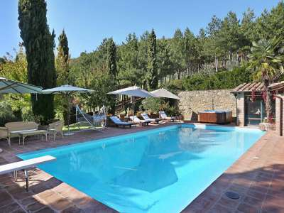 Image 2   5 bedroom villa for sale with 6.88 hectares of land, Gaiole in Chianti, Siena, Chianti Wine Region 225420