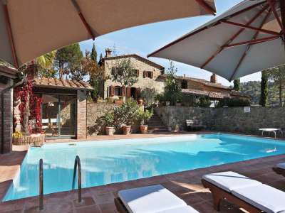 Image 24   5 bedroom villa for sale with 6.88 hectares of land, Gaiole in Chianti, Siena, Chianti Wine Region 225420