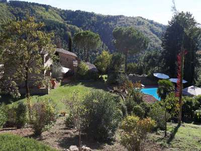 Image 3   5 bedroom villa for sale with 6.88 hectares of land, Gaiole in Chianti, Siena, Chianti Wine Region 225420