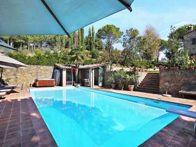 Image 33   5 bedroom villa for sale with 6.88 hectares of land, Gaiole in Chianti, Siena, Chianti Wine Region 225420