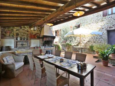 Image 4   5 bedroom villa for sale with 6.88 hectares of land, Gaiole in Chianti, Siena, Chianti Wine Region 225420