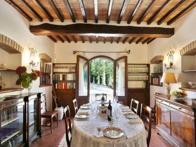 Image 5   5 bedroom villa for sale with 6.88 hectares of land, Gaiole in Chianti, Siena, Chianti Wine Region 225420