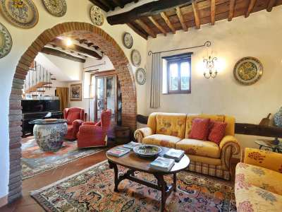 Image 6   5 bedroom villa for sale with 6.88 hectares of land, Gaiole in Chianti, Siena, Chianti Wine Region 225420