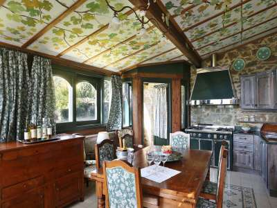 Image 7   5 bedroom villa for sale with 6.88 hectares of land, Gaiole in Chianti, Siena, Chianti Wine Region 225420