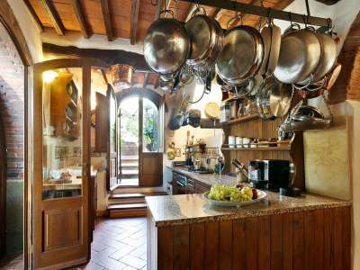 Image 8   5 bedroom villa for sale with 6.88 hectares of land, Gaiole in Chianti, Siena, Chianti Wine Region 225420