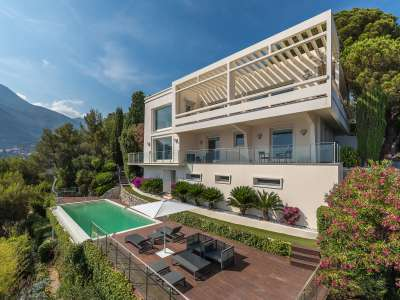 Image 1   5 bedroom villa for sale with 0.22 hectares of land, Roquebrune Cap Martin, French Riviera 225824
