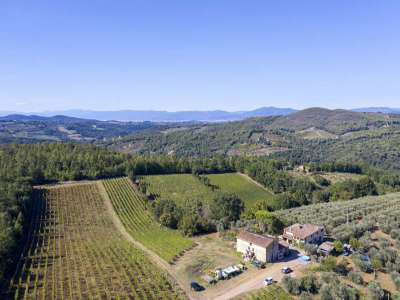Image 3   4 bedroom farmhouse for sale with 27.6 hectares of land, Greve in Chianti, Florence, Chianti Wine Region 225842