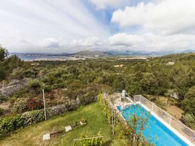 Image 2   3 bedroom villa for sale with 2.5 hectares of land, Alcudia, Northern Mallorca, Mallorca 225945