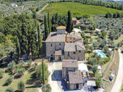 Image 1   16 bedroom house for sale with 44 hectares of land, San Casciano in Val di Pesa, Florence, Chianti Wine Region 226227