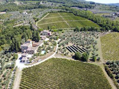 Image 4   16 bedroom house for sale with 44 hectares of land, San Casciano in Val di Pesa, Florence, Chianti Wine Region 226227