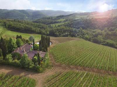 Image 3 | 6 bedroom house for sale with 0.6 hectares of land, Greve in Chianti, Florence, Chianti Wine Region 226257